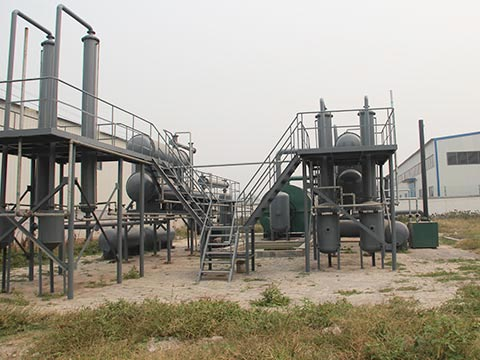 Pyrolysis of solid waste in China