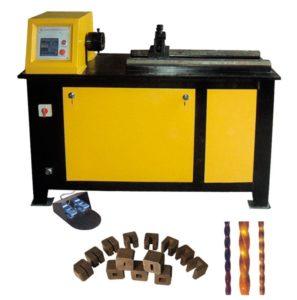wrought iron twisting machine
