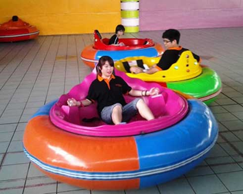 inflatable spin zone bumper car