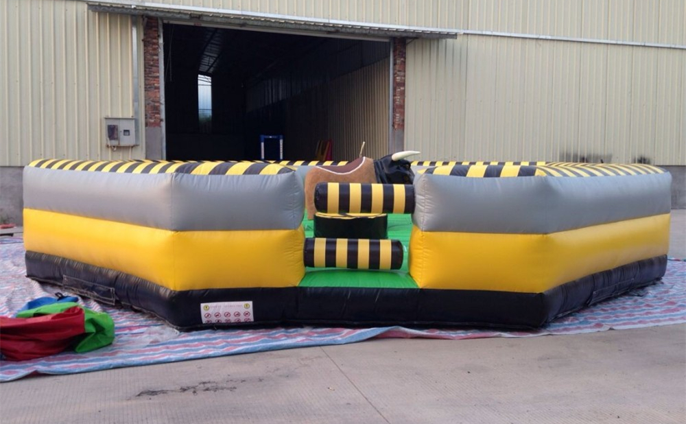 making inflatable cushion for bull riding