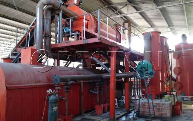 Beston Coconut Shell Charcoal Production Line