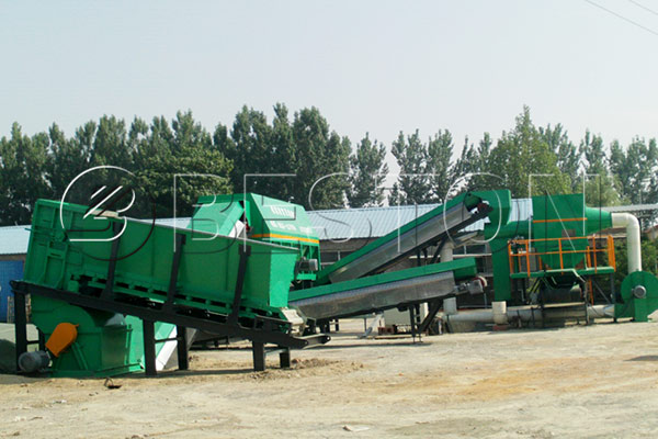 Solid Waste Recycling Sorting Machine