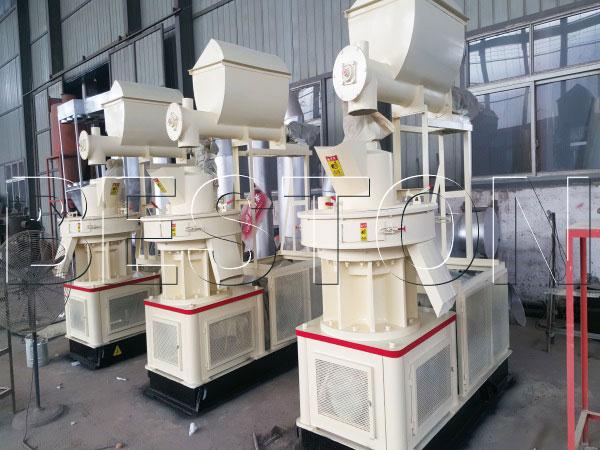 industrial wood pellet mills