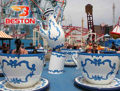Spinning Tea Cup Rides