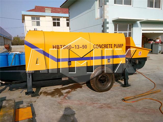 Trailer Concrete Pump